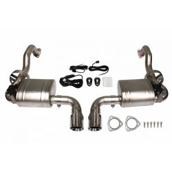 Cat back Exhaust System for Porsche Cayman /Boxster 987.2 2.7/2.9/3.4 08-12