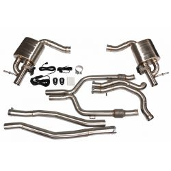 Cat back Exhaust System for Mercedes Benz C43 AMG 3.0T
