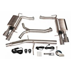 Cat back Exhaust System for Audi A5 1.8T/2.0T 08-16
