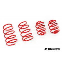 Lowering springs MTS Technik for Abarth 500 06/08 -, 30 mm / 30 mm