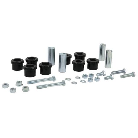 Whiteline sway bars and accessories Control arm - inner and outer bushing (camber/toe correction) for CHEVROLET, OPEL, VAUXHALL | races-shop.com