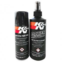 air filter cleaner kit K&N