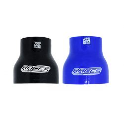 """Silicone straight reducer RACES Silicone, 76mm (3"""") to 83mm (3,27"""")"""
