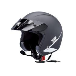 OMP Star Intercom Helmet - matt black