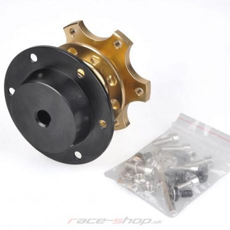 Universal quick release steering wheel hubs Quick release reduction for 6-bolt steering wheel | races-shop.com