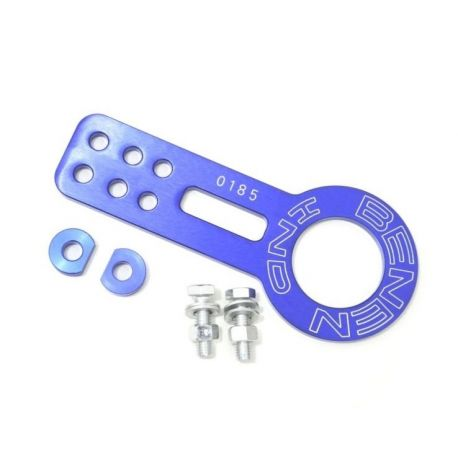 Tow eyes and tow straps Aluminium tow eye Benen style front | races-shop.com