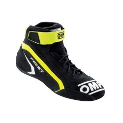 FIA race shoes OMP FIRST antracite/yellow