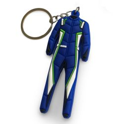 Keychain Rubber suit-shaped sparco