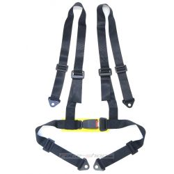 "4 point safety belts 2"" (50mm), black"