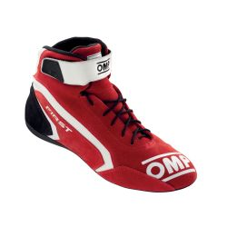 FIA race shoes OMP FIRST red