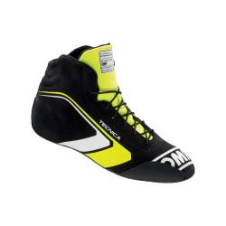 FIA race shoes OMP TECNICA black/fluo yellow