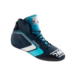 FIA race shoes OMP TECNICA blue/cyan