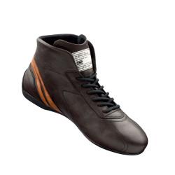 FIA race shoes OMP CARRERA dark brown