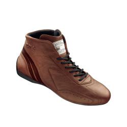 FIA race shoes OMP CARRERA brown