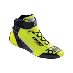 FIA race shoes OMP ONE EVO X flue yellow