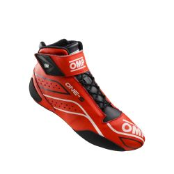 FIA race shoes OMP ONE-S red
