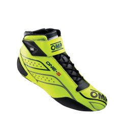 FIA race shoes OMP ONE-S fluo yellow