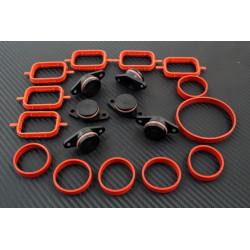 Intake manifold plug kit BMW 22mm komplet 6psc. PA66 GF30