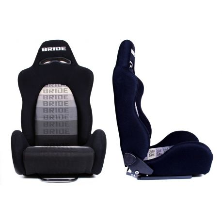 Sport seats without FIA approval - adjustable Racing seat K700 BLACK | races-shop.com
