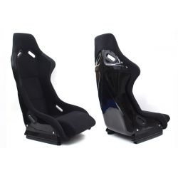 Racing seat EVO WELUR BLACK