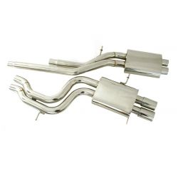 Cat back Exhaust System Audi A4 S4 B5 2.7