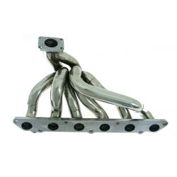 Stainless steel exhaust manifold Toyota Supra MKIII 86-92 Turbo T4, Top Mount