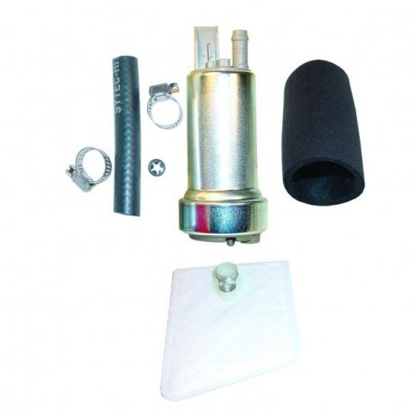 340 LPH IN TANK 12V FUEL PUMP HIGH POWER UPGRADE FOR GSS342 255 INCL FITTING KIT