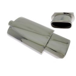 "Muffler RACES 10, inlet 2,5"" (63mm)"