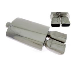 "Muffler RACES 16, inlet 2,5"" (63mm)"
