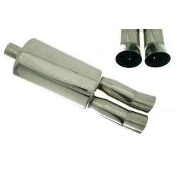 "Muffler RACES 29, inlet 2,5"" (63mm)"