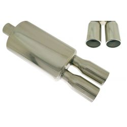 "Muffler RACES 33, inlet 2,5"" (63mm)"