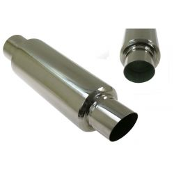 "Muffler RACES 39, inlet 3"" (76mm)"