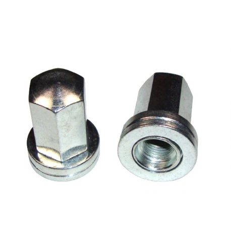 Nuts, bolts and studs Flat nuts - Plated zinc Grayston (Peugeot) | races-shop.com