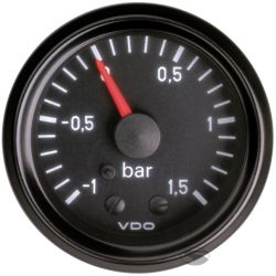 VDO gauge boost -1 to 1,5BAR) - cockpit vision series