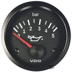 VDO gauge oil pressure (0-5 BAR) - cockpit vision series