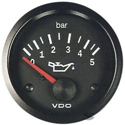 VDO gauge oil pressure (0-5 BAR) - cocpit vision series