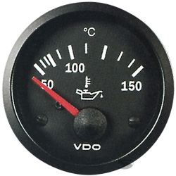 VDO gauge oil temp - cocpit vision series
