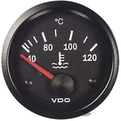 VDO gauge water temp - cocpit vision series