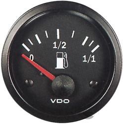 VDO gauge Fuel level, cylinder type - cockpit vision series