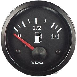 VDO gauge Fuel level, cylinder type - cocpit vision series
