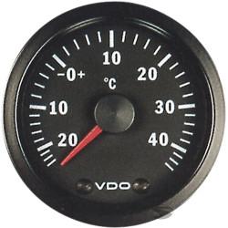 VDO gauge Outside temperature - cockpit vision series