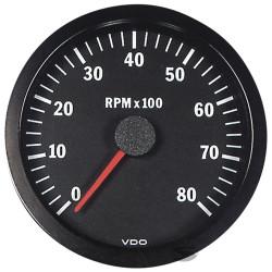 VDO gauge tachometer 100mm to 8000ot/min - cockpit vision series