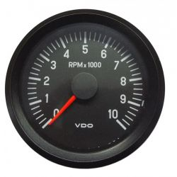 VDO gauge tachometer 80mm to 10000ot/min - cockpit vision series