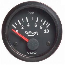 VDO gauge oil pressure (0-10 BAR) - cockpit vision series