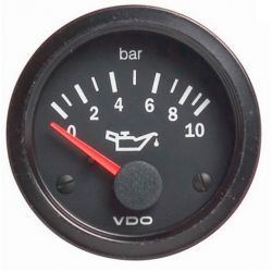 VDO gauge oil pressure (0-10 BAR) - cocpit vision series