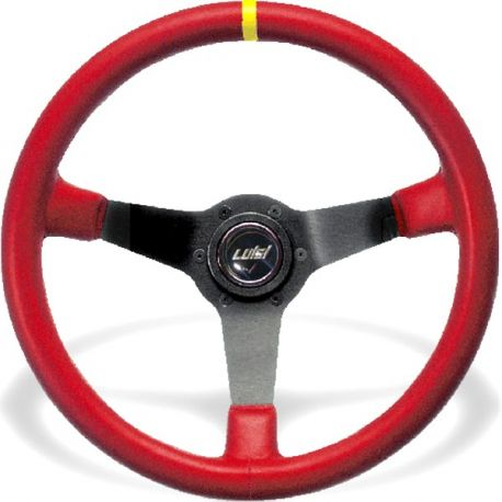 steering wheels Steering wheel Luisi Mirage Corsa, 350mm, leather, 75mm , deep dish | races-shop.com
