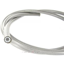 Stainless braided teflon Hose AN4 (4,8mm)