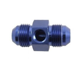 Gauge/ Sensor Port Adapter straight AN4 male/male