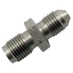 Brake fitting Reduction from AN3 to 1/8 NPT, stainless steel, male