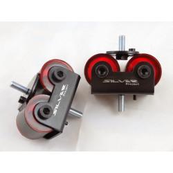 SILVER PROJECT SOLID ENGINE MOTOR MOUNTS fit Nissan S13 S14 SR20DET KA24DE CA18DET